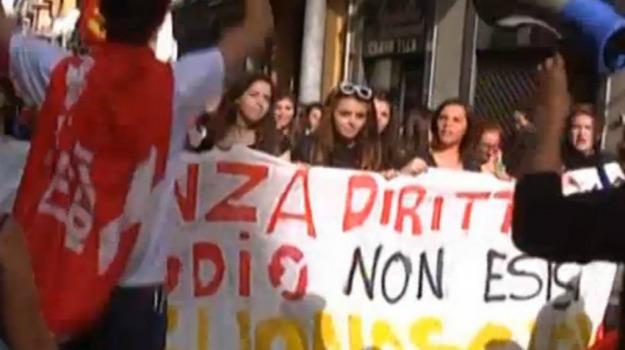 protesta, scuola, studenti, Agrigento, Cronaca