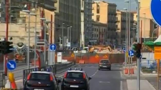 Palermo, TRAFFICO, tram, Palermo, Cronaca
