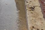 Alcamo, rete idrica colabrodo in corso VI Aprile