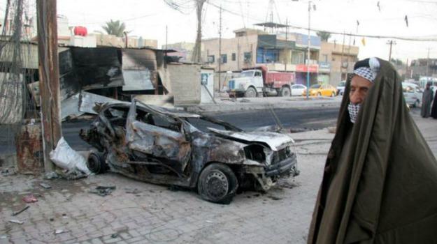 7 bambini, attentato, autobomba, Baghdad, morti, Sicilia, Mondo