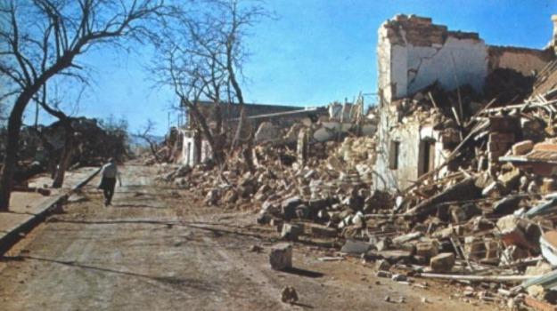 Terremoto Belice, Franco Valenti, Agrigento, Cronaca