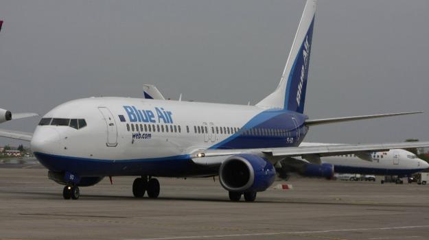 Aeroporto, blue air, catania, voli, Catania, Economia