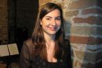 La giarrese Claudia Patanè dirige l'orchestra del concerto in onore di De Gasperi alla Camera
