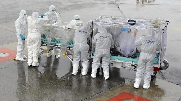 ebola, emergency, medico contagiato, Enna, Cronaca
