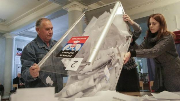 elezioni, separatisti, Ucraina, voto, Sicilia, Mondo