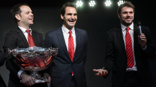 coppa, davis, Tennis, Roger Federer, Stanislas Wawrinka, Sicilia, Sport