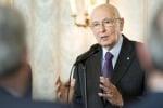 """Napolitano: """"Parlare di voto anticipato o scissione porta a instabilità"""""""