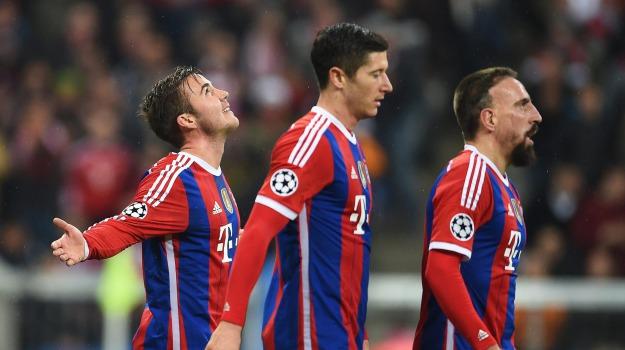 Bayern Monaco, champions league, roma, Sicilia, Sport