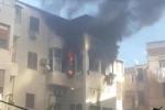 Incendio in una casa della Zisa a Palermo, paura ma nessun ferito