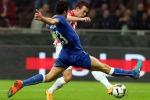 Non arriva il poker degli azzurri, tra petardi e interruzioni Italia e Croazia 1 a 1