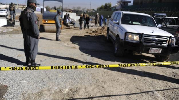 afghanistan, esplosione, kamikaze, polizia, Sicilia, Mondo