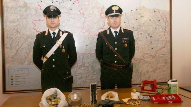 armi, Blitz, carabinieri, laboratorio, Palermo, Cronaca
