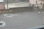 Pioggia e allagamenti, a Ragusa strade come fiumi - Video