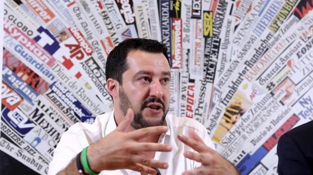 europa, immigrazione, Lega Nord, Matteo Salvini, Sicilia, La politica della Lega