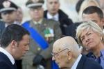 """Napolitano: """"L'estremismo è una minaccia reale per l'Italia"""""""