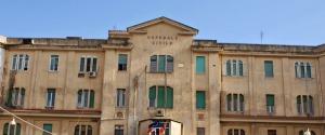 L'ospedale civile di Ragusa