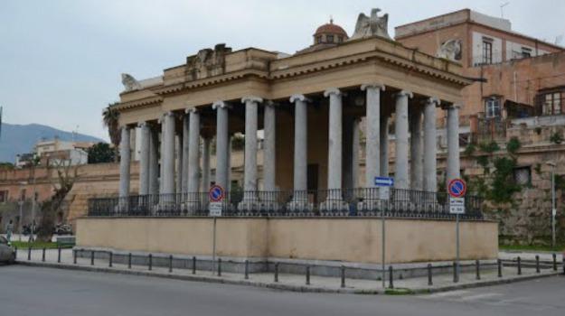 Foro Italico, Palchetto della musica, Palermo, vandalismo, Palermo, Cronaca