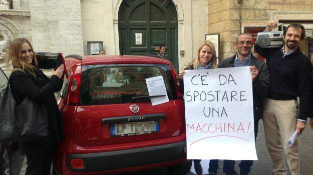 multe, panda rossa, sindaco, Ignazio Marino, Sicilia, Politica