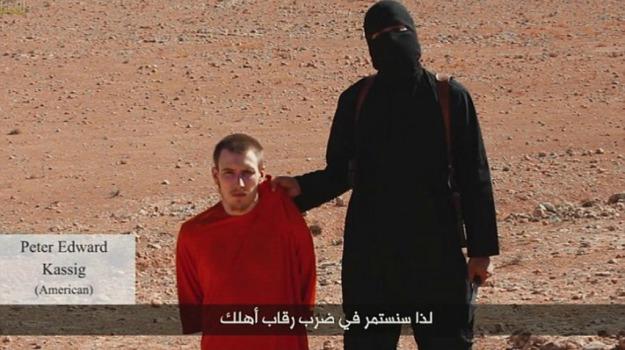 decapitazione, Isis, ostaggio, stato islamico, terrorismo, Sicilia, Mondo