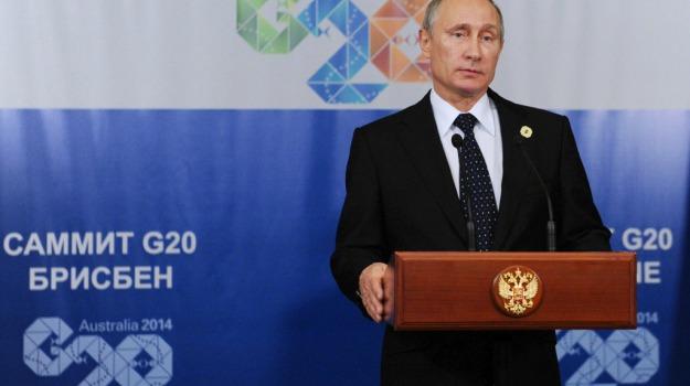 G20, Russia, Ucraina, USA, Barack Obama, Vladimir Putin, Sicilia, Mondo