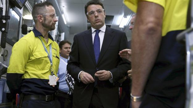 governo, premier, visita, Matteo Renzi, Sicilia, Politica
