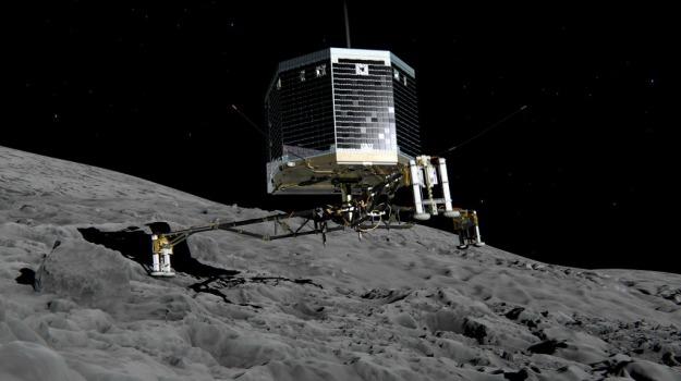 esa, lander, missione, rosetta, spazio, Sicilia, Mondo