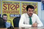"""Reati lievi, Salvini: """"Con Renzi Italia diventa paradiso dei delinquenti"""""""
