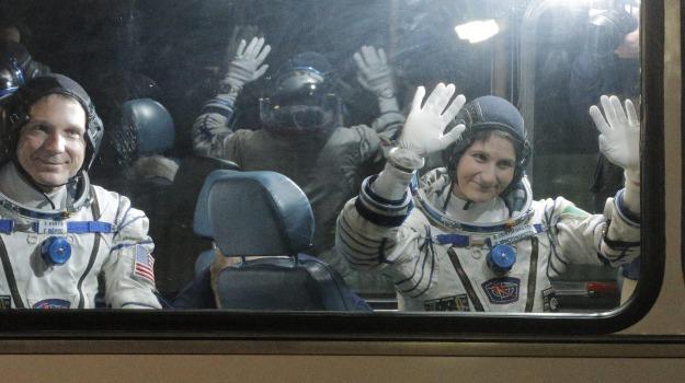 astronauta, Soyuz, spazio, stazione spaziale, Samantha Cristoforetti, Sicilia, Mondo