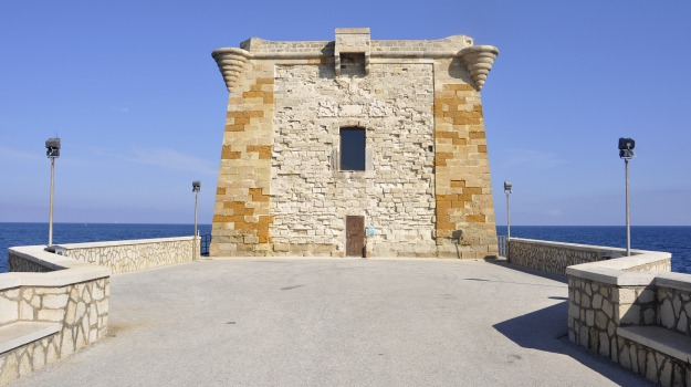 fogne, Torre di Ligny, trapani, Giuseppe Lipari, Trapani, Cronaca