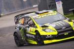 Rally di Monza, battaglia Rossi-Kubica: Vale avanti e il polacco in scia