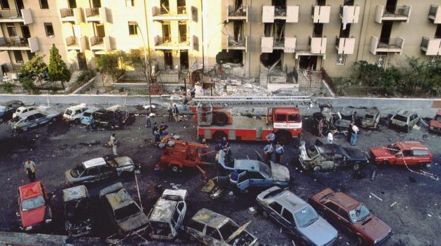 anniversario strage di via d'amelio, attentato borsellino, mafia, Palermo, Cronaca
