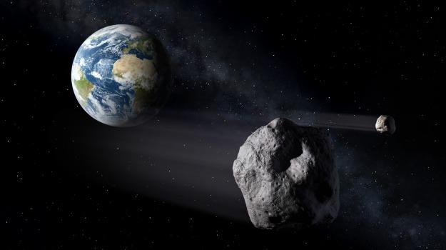 asteroide, passaggio, Sicilia, Vita
