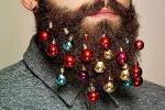 """Palline per decorare la... barba: impazza la moda delle """"Beard Baubles"""""""