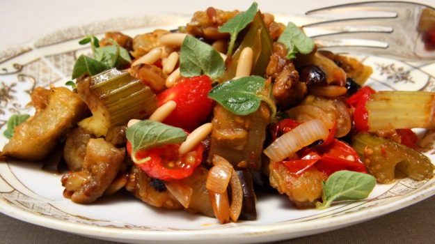 alimentazione, caponata, cibo, ricetta, Sicilia, Società
