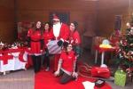 Croce Rossa in festa a Fiumefreddo di Sicilia, tra i doni e la casa di Babbo Natale per i più piccoli - le foto