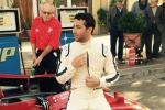 Cerda, il pilota Ricciardo a Floriopoli per girare uno spot - Foto