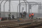 Incendio doloso, a Bologna circolazione ferroviaria in tilt - Foto