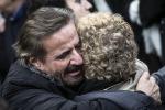 Christian De Sica, lacrime e commozione ai funerali del fratello Manuel - Foto