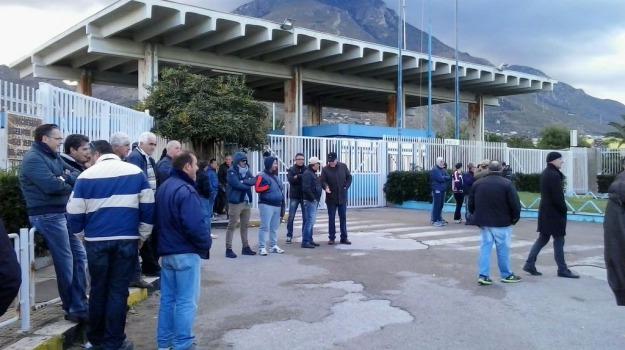 fiat, indotto, operai, protesta, Palermo, Cronaca