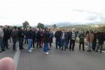 Una precedente protesta degli operai dell'ex Fiat