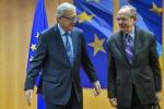 "Juncker: ""Non ho denaro fresco, lo dico a Roma e Parigi"""