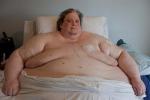 Morto l'uomo più grasso del mondo: aveva raggiunto i 450 chili - Foto