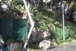Neve a Palermo, massi in strada all'Addaura: strada chiusa - Video