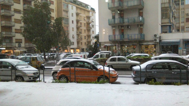 Maltempo, neve, Sicilia, Palermo, Cronaca