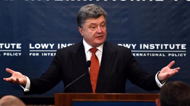 armi, ribelli, ritiro, separatisti, Ucraina, Petro Poroshenko, Sicilia, Mondo