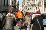 Palermo, c'è la «pedalata natalizia»