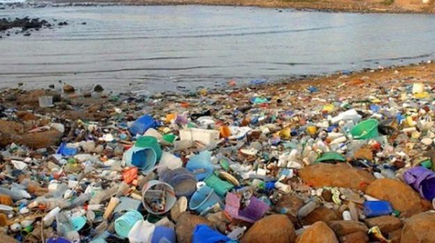 inquinamento, peso, plastica, tonnellate, Sicilia, Società