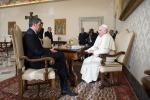 Il premier Matteo Renzi incontra Papa Francesco: tutte le foto