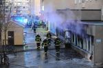 Ordigno gettato contro la Moschea, attentato con 5 feriti in Svezia