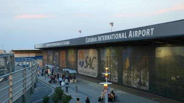 aeroporto di catania, furto, Catania, Cronaca